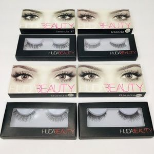 💙 PACK OF 4 HUDA BEAUTY LASHES